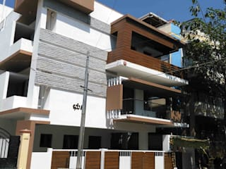 Existing exterior photo-2:  Houses by SAHHA architecture & interiors