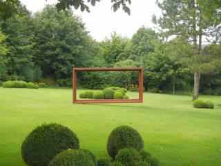 Mit Gelassenheit und Eleganz 2kn architekt + landschaftsarchitekt Thorsten Kasel + Sven Marcus Neu PartSchG Garten im Landhausstil Metall Grün