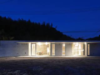 Casas de estilo  por アトリエ環 建築設計事務所,