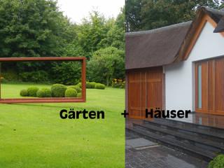 Mit Gelassenheit und Eleganz 2kn architekt + landschaftsarchitekt Thorsten Kasel + Sven Marcus Neu PartSchG Landhäuser Stein Grün