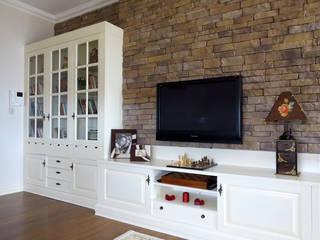 Öykü İç Mimarlık – Turkuaz Evleri:  tarz Oturma Odası
