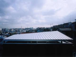横浜S台の家 The house in S dai, Yokohama モダンな 家 の 栗原正明建築設計室 モダン