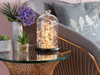 Glass Jar Table Lamp Range from Litecraft Litecraft Living roomLighting Glass