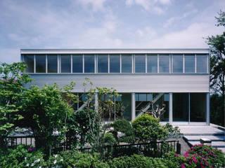 H K モダンな 家 の 栗原正明建築設計室 モダン