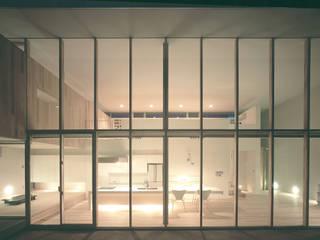 東市来の住宅 アトリエ環 建築設計事務所 モダンデザインの リビング