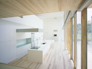 東市来の住宅: アトリエ環 建築設計事務所が手掛けたキッチンです。