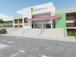 ABRANGENTE ENGENHARIA LTDA モダンな学校