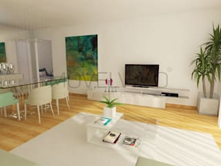 Living room by Movelvivo Interiores,