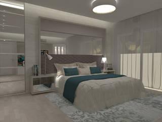 Minimalist bedroom by E+D Arquitetura Minimalist