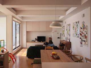 五福の家  Ki no ie Renovation  TOYAMA,JAPAN: 水野建築研究所が手掛けた現代のです。,モダン
