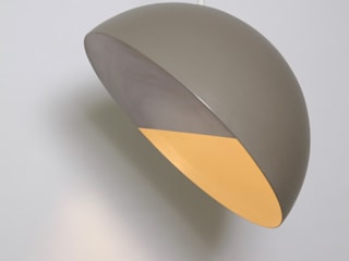 "Crescent lamp 18"" diametro:  de estilo  por Natural Urbano"