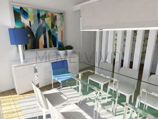 Dining room by Movelvivo Interiores,