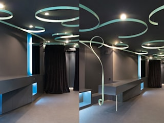 melic juan marco arquitectos Vestidores de estilo industrial
