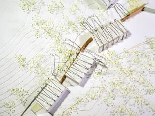 la pinyolada juan marco arquitectos Bodegas de estilo industrial