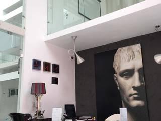 """Hotel """"es design"""" Recepcion : Estudios y oficinas de estilo moderno por Struo arquitectura"""