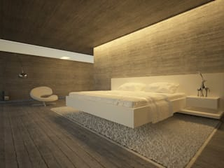 Modern style bedroom by Pedro Palma Arquiteto Modern
