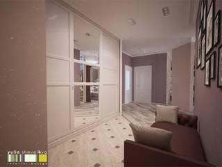 Corridor & hallway by Мастерская интерьера Юлии Шевелевой, Eclectic