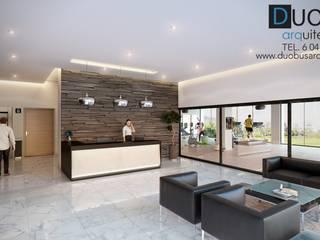 Couloir et hall d'entrée de style  par DUOBUS M + L arquitectos