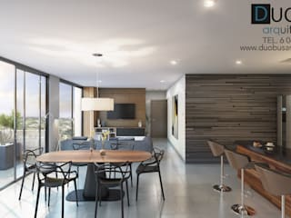 Salon de style  par DUOBUS M + L arquitectos