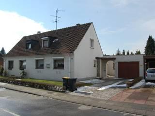 Metamorphose 2kn architekt + landschaftsarchitekt Thorsten Kasel + Sven Marcus Neu PartSchG Rustikale Häuser Stein Weiß