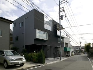 鹿島田の分譲住宅 The housing built for sale in Kashimada モダンな 家 の 栗原正明建築設計室 モダン