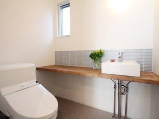 株式会社プラスアイ Scandinavian style bathroom
