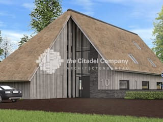 Country style houses by Architectenbureau The Citadel Company Country