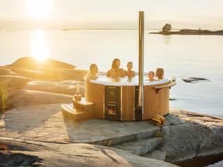Skargards Rojal – De luxe hottub uit Zweden:  Zwembad door Skargards Hot Tubs NL