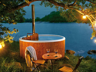 Skargards Panel – De traditionele Hot Tub uit Zweden:  Zwembad door Skargards Hot Tubs NL