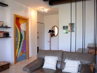50 mq di Eleganza Eclettica Ingresso, Corridoio & Scale in stile eclettico di Arch. Sara Pizzo - Studio 1881 Eclettico
