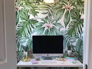Estudios y oficinas de estilo  por Moonwallstickers.com