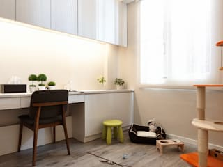 infinite end 無限牆面:  嬰兒/兒童房 by 耀昀創意設計有限公司/Alfonso Ideas