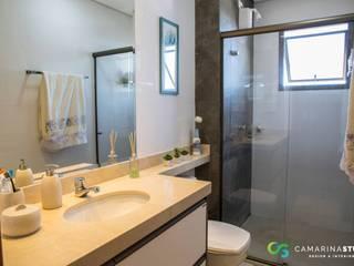 Ванная комната в рустикальном стиле от Camarina Studio Рустикальный