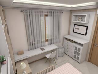 Cuartos infantiles de estilo  por Bruna Schuster Arquitetura & Interiores, Moderno