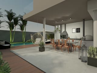 Cozinha e Espaço Gourmet: Cozinhas  por Marcela Matos Arquitetura e Interiores,Moderno