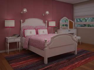 Dormitorios infantiles de estilo  de JMS DISEÑO DE INTERIORES MUEBLES Y CONSTRUCCION ,