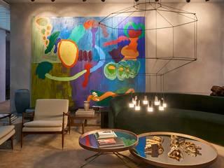 Salon moderne par CLS ARQUITETURA Moderne