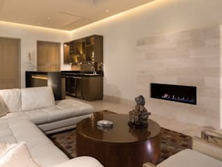 SALA: Salas de estilo  por Rousseau Arquitectos