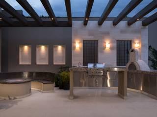 TERRAZA Balcones y terrazas modernos de Rousseau Arquitectos Moderno