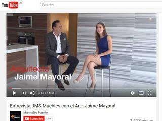 Casas de estilo  por JMS DISEÑO DE INTERIORES MUEBLES Y CONSTRUCCION , Moderno