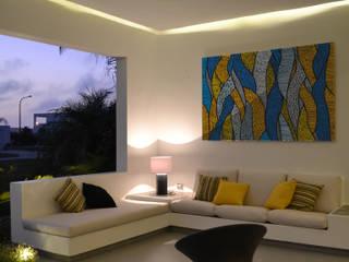 Balcone, Veranda & Terrazza in stile moderno di DMS Arquitectas Moderno