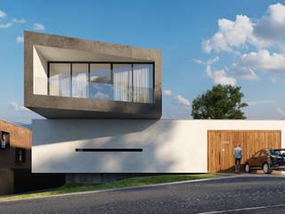 Proyecto habitacional Casas modernas de MG estudio de arquitectura Moderno