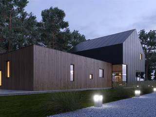 Diseño habitacional Casas modernas de MG estudio de arquitectura Moderno