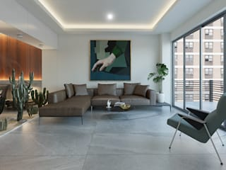 Diseño de interiores Salones modernos de MG estudio de arquitectura Moderno