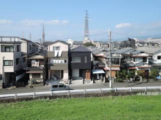高槻の家・緑を楽しむ家: 大野アトリエが手掛けた家です。