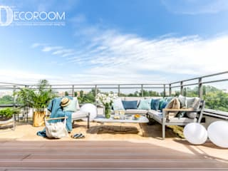 Patios & Decks by Decoroom, Mediterranean