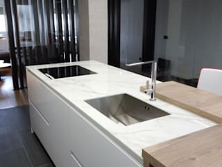 Minimalist kitchen by JORGE RIQUELME | DISEÑO INTERIOR Minimalist