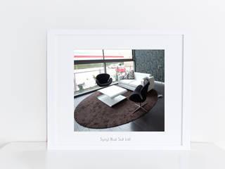 loft tras la reforma a través de la asesoría online Onebyhdl:  de estilo  de horasDluz Studio