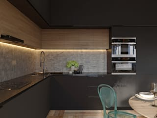 Modern Kitchen by Дизайн-студия 'Вердиз' Modern