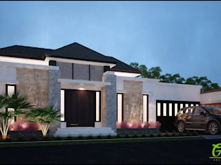 Private House Rantau Prapat:   by GreenArt Studio